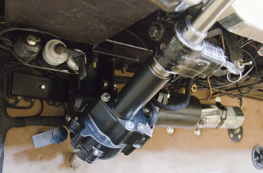 The Steering Unit Works By Sensing Force Lied To Wheel And Increases Torque On Anterior Side Of Electric
