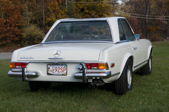 1971 Mercedes Benz 280 Sl